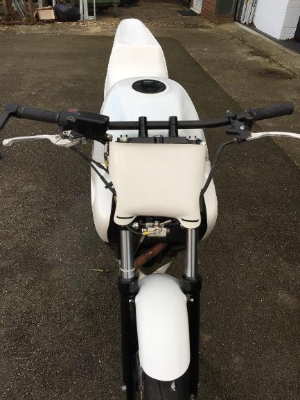 Honda CB500 <p> A16 Race Number Board</p>