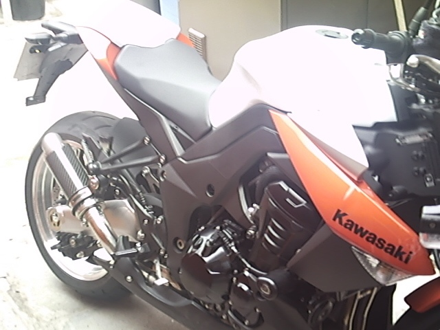 """Kawasaki Z1000 2010-2013<p>A16 Moto GP Carbon Exhaust with Titanium Type Slashcut Outlet</p><br><a href=""""https://a16roadnracesupplies.co.uk/product/a16-kawasaki-exhausts/"""">Click here to Spec your A16 Kawasaki Exhaust now!</a>"""