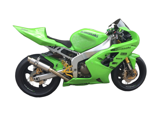 Kawasaki ZX636 2003-04 <p>A16 Race Fairing and Seat & A16 Stainless Moto GP Exhaust  </p>