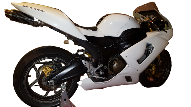 Kawasaki ZX636 2005-06 <p>A16 Race Fairing, Seat and Mudguard</p>