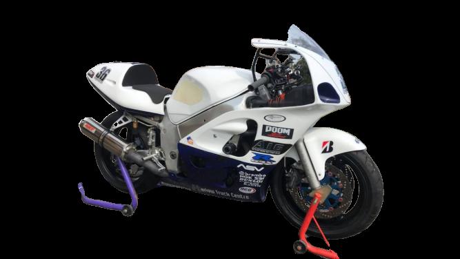 Suzuki GSXR SRAD 600 750  <p>A16 Race Fairing and Seat</p>