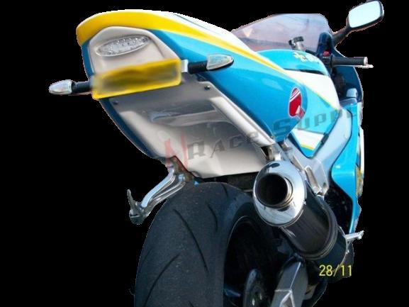 Suzuki GSXR 600 & 750 Y K1 K2 K3 2000-2003<p>A16 White Twin Light Undertray with Twin LED Rear Lights</p>