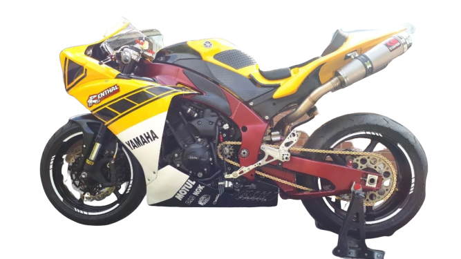 "Yamaha YZF R1 2009-16<p>A16 Race Fairing and Seat</p><br><a href=""https://a16roadnracesupplies.co.uk/product/a16-yamaha-exhausts/"">Buy now!</a>"